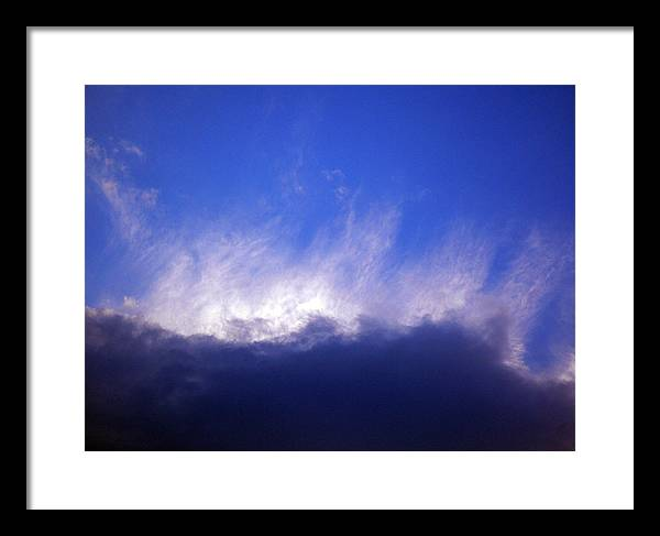 Cloud Framed Print featuring the photograph Sky2 by Mikael Gambitt