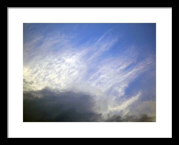 Cloud Framed Print featuring the photograph Sky6 by Mikael Gambitt