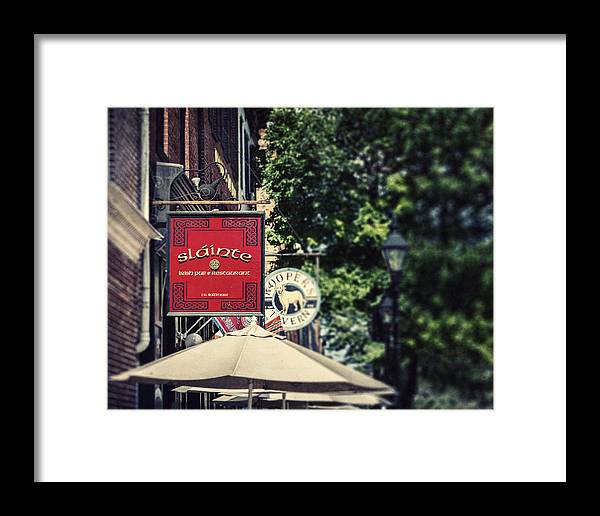 Slainte Framed Print featuring the photograph Slainte by Lisa Russo