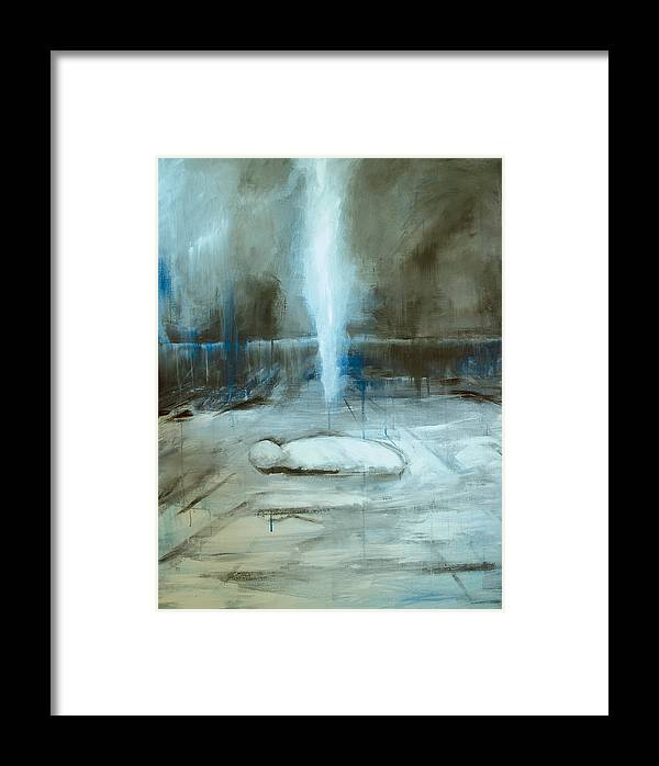 Expressionism Framed Print featuring the painting Sleep No More by Cecilia August Sand