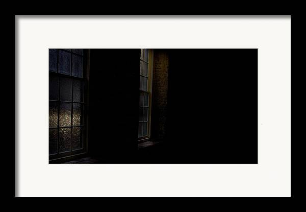enterprise Mill Framed Print featuring the photograph Slit Scan 4 by Patrick Biestman
