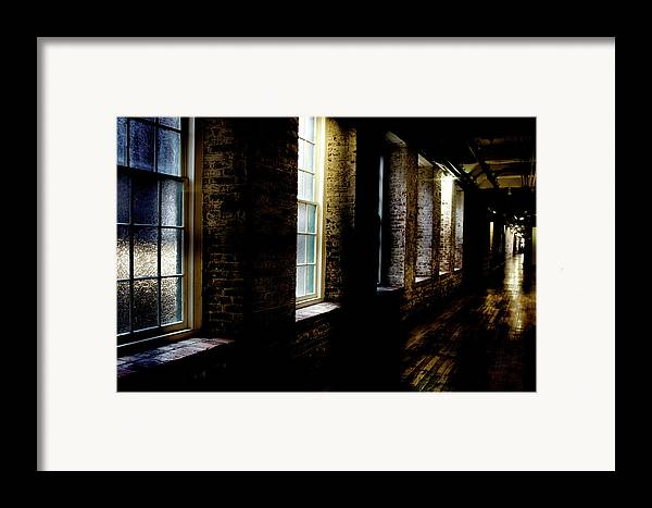 enterprise Mill Framed Print featuring the photograph Slit Scan 5 by Patrick Biestman