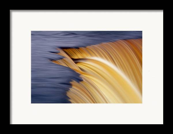 Cascades Framed Print featuring the photograph Slow Motion Waterfall by Romeo Koitmae