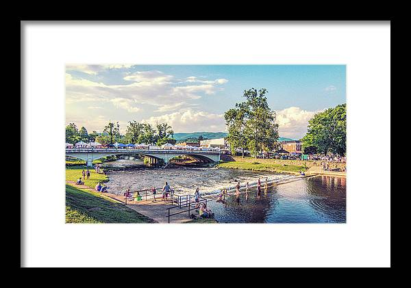 Tennessee Framed Print featuring the photograph Small Town America by Jim Cook