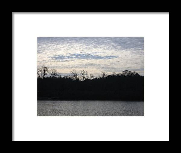 Landscape Framed Print featuring the photograph Smithville Landscape by Jennifer Sweet