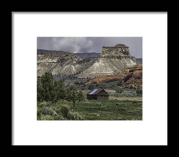 Bryce City Framed Print featuring the photograph Smoke In The Mountains by Elizabeth Eldridge