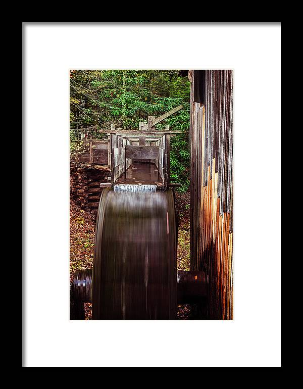 Mill Framed Print featuring the photograph Smoky Mountain Mill by Andrew Soundarajan