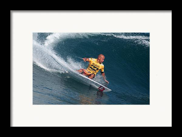 Kelly Slater Framed Print featuring the photograph Smooth Operator by Kevin Smith