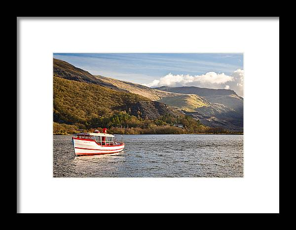 Snowdonia Framed Print featuring the photograph Snowdon Star by Dave Bowman