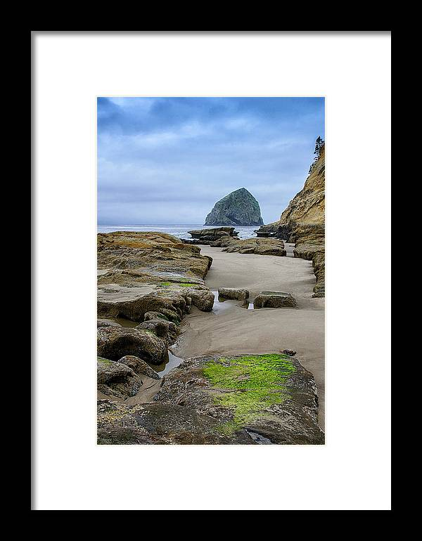 Haystack Framed Print featuring the photograph So Far Away by John Kiss