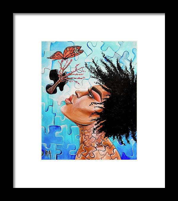 Butterfly Framed Print featuring the photograph So Much more to me that you just cant See by Artist RiA