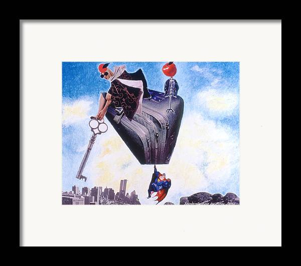 Twin Towers Framed Print featuring the drawing Soap Scene #11 Seek The Love Within by Minaz Jantz