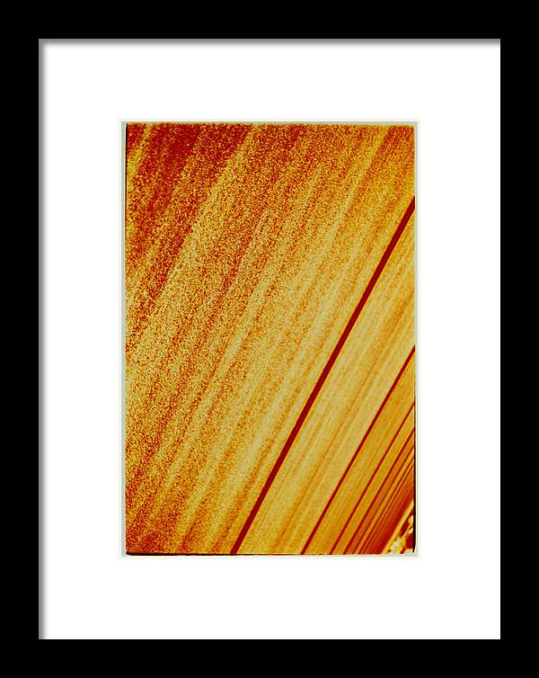 Abstract Framed Print featuring the photograph Sod by David Rivas