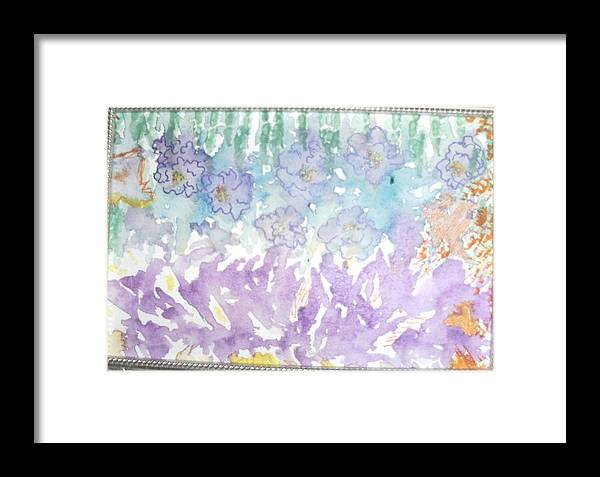 Soft Framed Print featuring the painting Soft And Pretty by Anne-Elizabeth Whiteway