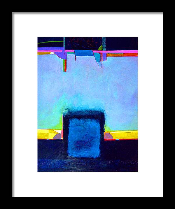 Framed Print featuring the painting Softened Boundaries by Dale Witherow