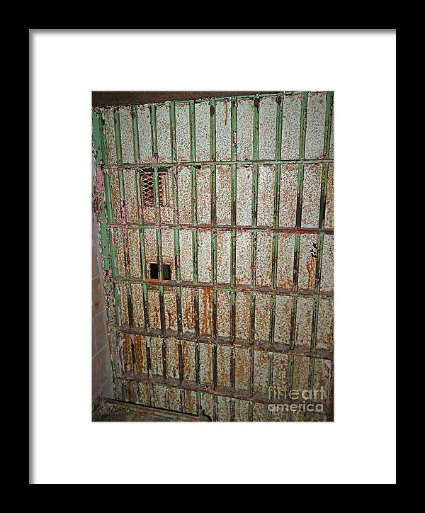 Call Framed Print featuring the photograph Solitary Confinement by Steve Gass