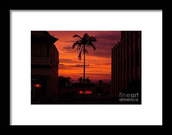 Innisfail Framed Print featuring the photograph Solitary Passage by Kerryn Madsen- Pietsch