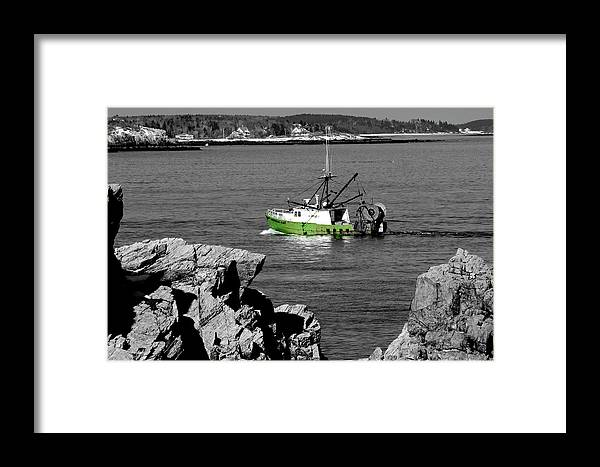 Coast Framed Print featuring the photograph Solitude by Greg Fortier