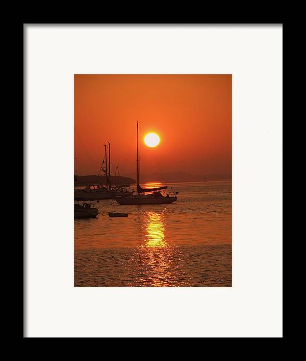 Peace Framed Print featuring the photograph Solitude by Judy Waller