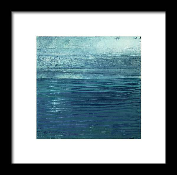 Canvas Print Framed Print featuring the painting Solitude by K Batson Art