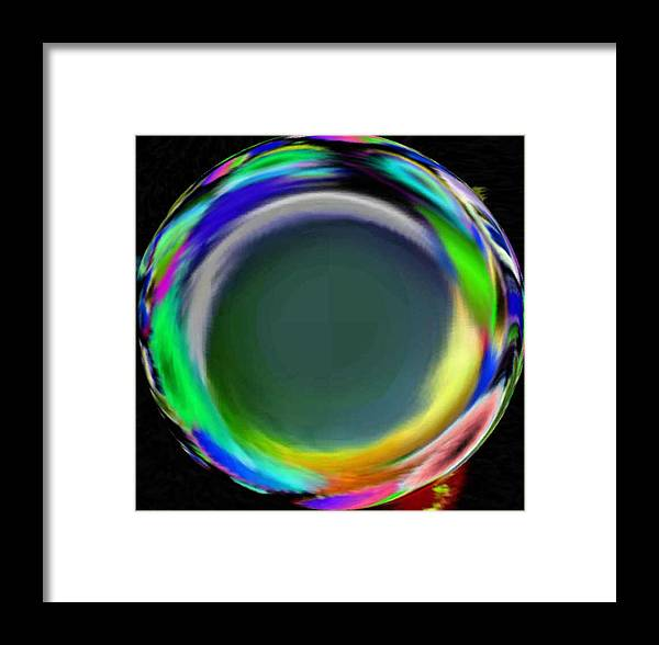 Abstract Art Framed Print featuring the digital art Soloist 2nd Wind by Brenda L Spencer