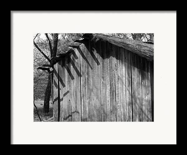 Wood Framed Print featuring the photograph Someraingetsthrough by Curtis J Neeley Jr
