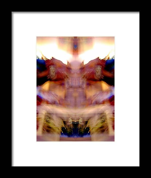 Abstract Framed Print featuring the photograph Something To Do With Cats by Jane Tripp