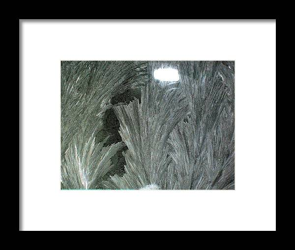 Sometimes-in-winter Framed Print featuring the photograph ''sometimes In Winter.....'' No.13, Mon--5dec2011 by Robert 'Standing Eagle'