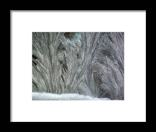 Sometimes-in-winter Framed Print featuring the photograph Sometimes In Winter..... No.16, Mon--5dec2011 by Robert 'Standing Eagle'