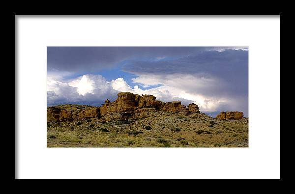 West Framed Print featuring the photograph Somewhere Out West by Ralph Perdomo