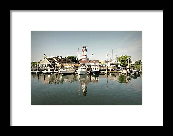 Sono Seaport Framed Print featuring the photograph Sono Seaport by Diana Angstadt