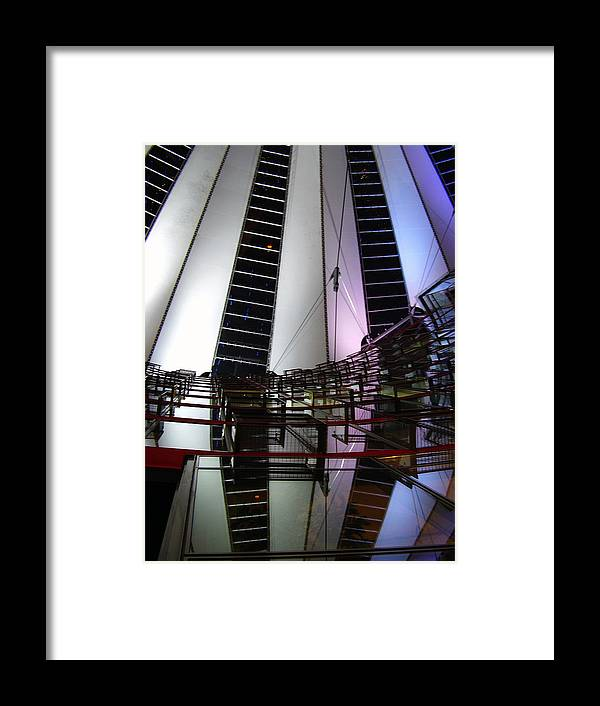 Sony Center Framed Print featuring the photograph Sony Center II by Flavia Westerwelle