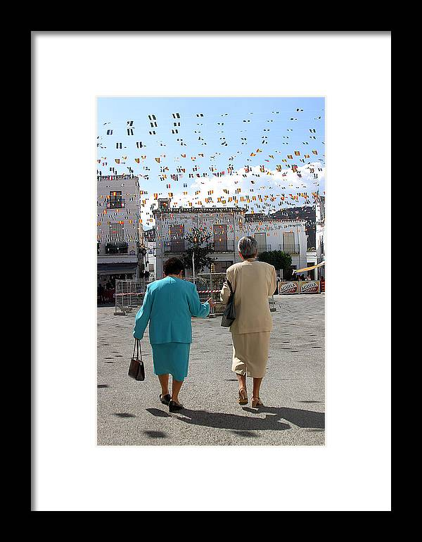 Photographer Framed Print featuring the photograph Soon Be Busy by Jez C Self