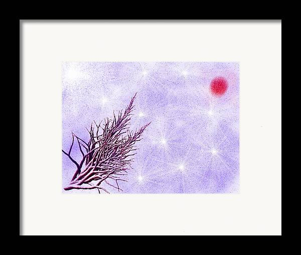 Hope Framed Print featuring the digital art Soon Will Be Spring by Dr Loifer Vladimir