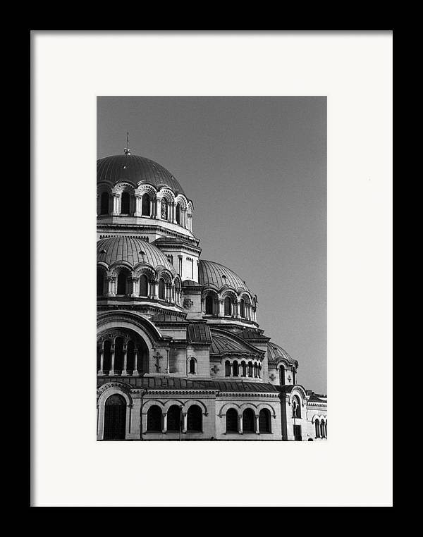 Sofia Framed Print featuring the photograph Sophia Church by Marcus Best