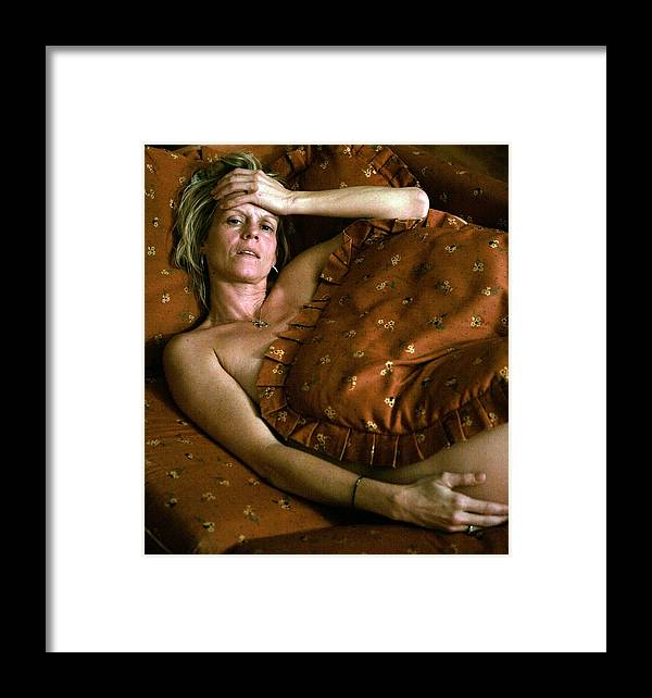Sorrow Framed Print featuring the painting Sorrow by John Toxey