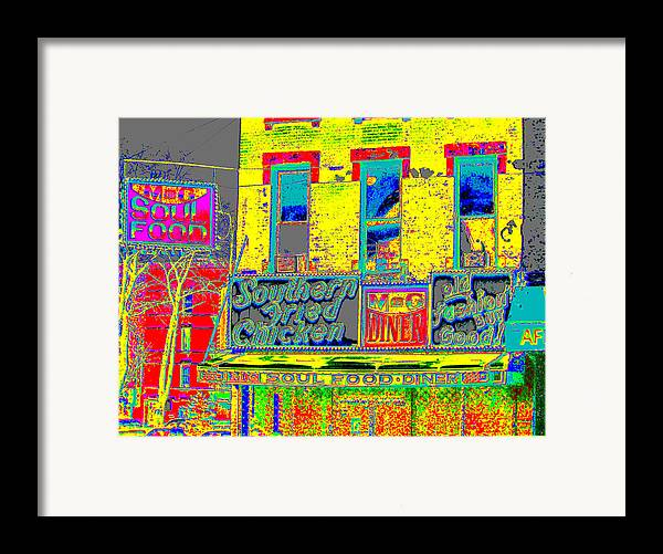 Harlem Framed Print featuring the photograph Soul Food by Steven Huszar
