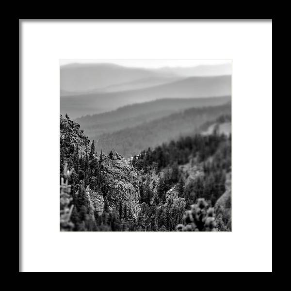 Mountains Framed Print featuring the photograph Soul Searching by Garett Gabriel
