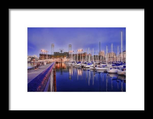 South Beach San Francisco - Victors Boat Framed Print