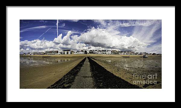 Southend On Sea Framed Print featuring the photograph Southend On Sea Panorama by Sheila Smart Fine Art Photography