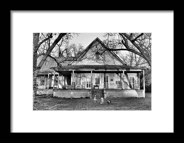 Architectural Framed Print featuring the photograph Southern Comfort by Jan Amiss Photography