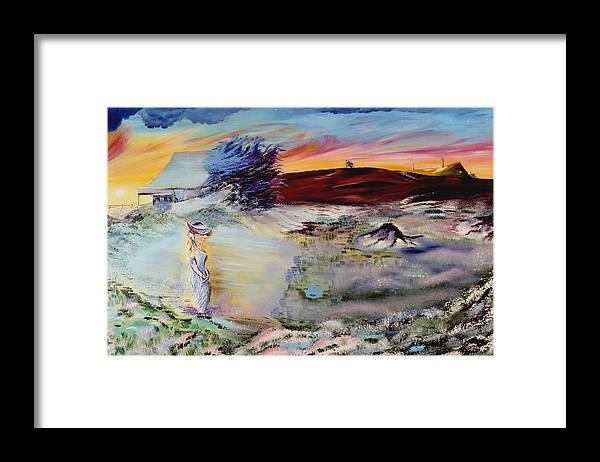 Prints Framed Print featuring the painting Southern Nights by Richard Barham