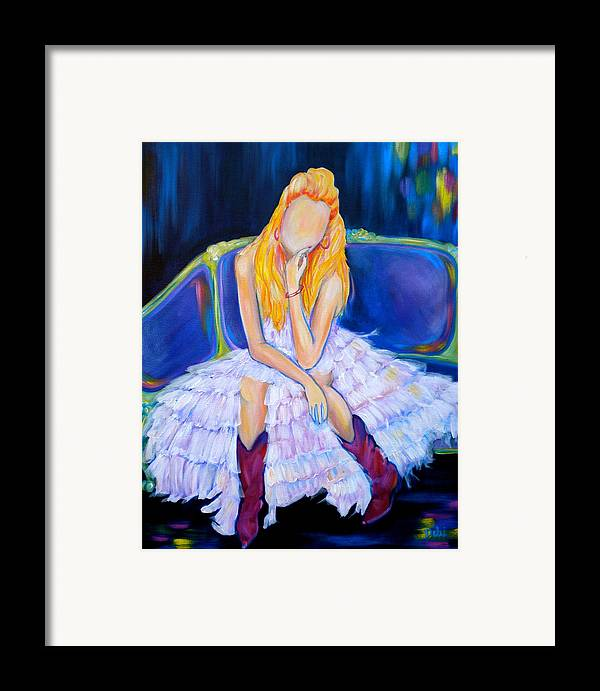 Southern Sass Framed Print featuring the painting Southern Sass by Debi Starr
