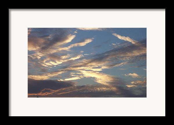 Landscapes Framed Print featuring the print Southern Skies by Beverly Baxter