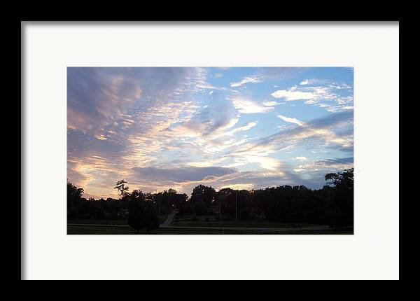 Skyscape Framed Print featuring the print Southern Sky by Beverly Baxter