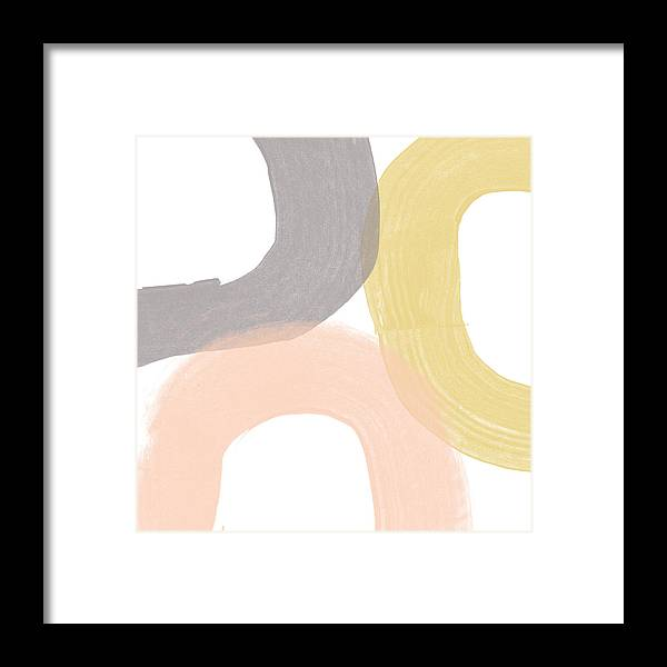 Brushstrokes Framed Print featuring the painting Southwest Modern Brushstrokes - Abstract Art By Linda Woods by Linda Woods