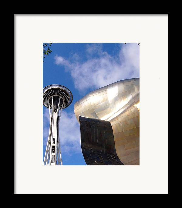 Architect Framed Print featuring the photograph Space And Music by Kenna Westerman
