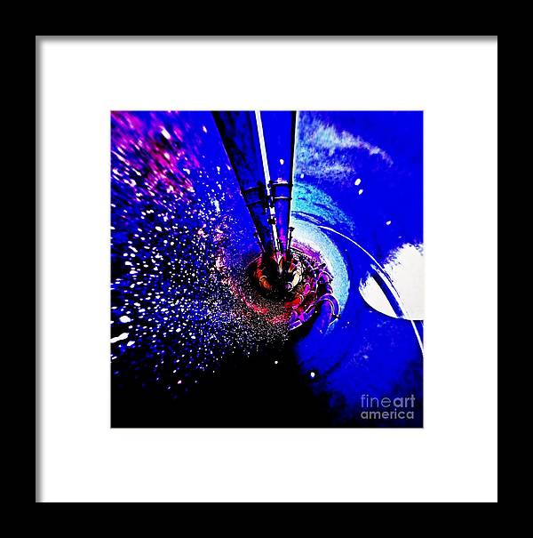Blair Stuart Framed Print featuring the photograph Space The Other Dimension by Blair Stuart