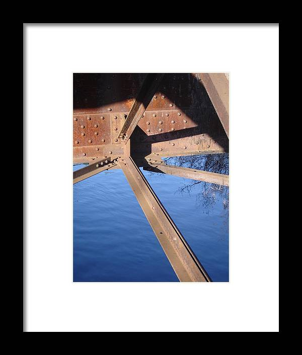 Architectural Framed Print featuring the photograph Span by Dean Corbin
