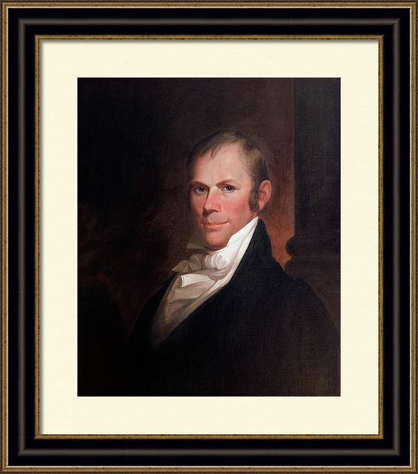 Speakers of the United States House of Representatives, Henry Clay, Kentucky  by Matthew Harris Jouett